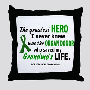 Hero I Never Knew 1 (Grandma) Throw Pillow