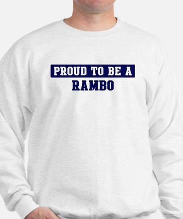 Proud to be Rambo Jumper