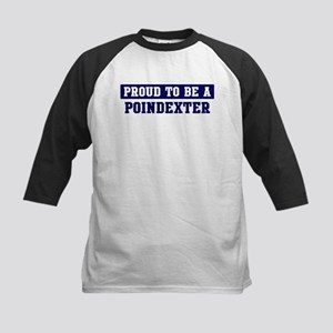 Proud to be Poindexter Kids Baseball Jersey