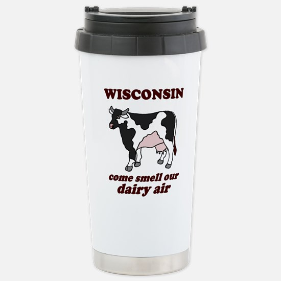Wisconsin Smell Dairy Air Stainless Steel Travel M