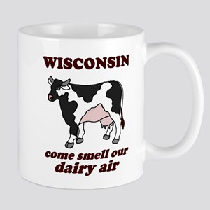 Wisconsin Smell Dairy Air Mug