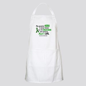 Hero I Never Knew 1 (Aunt) BBQ Apron