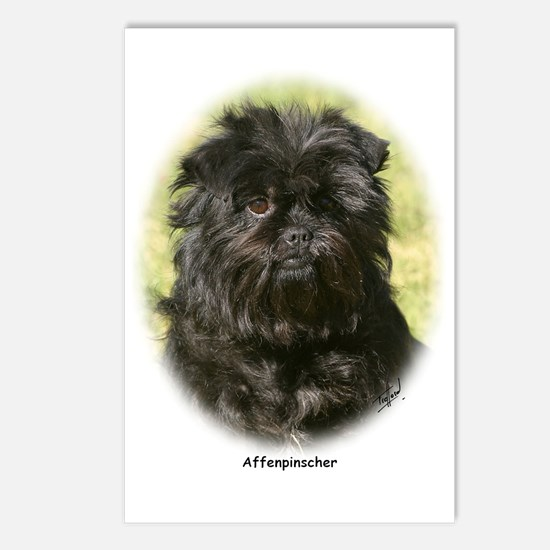 Affenpinscher 9Y410D-014 Postcards (Package of 8)