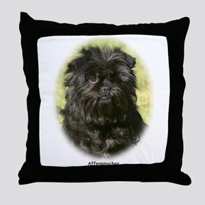 Affenpinscher 9Y410D-014 Throw Pillow