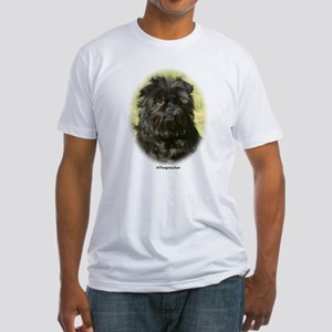 Affenpinscher 9Y410D-014 Fitted T-Shirt