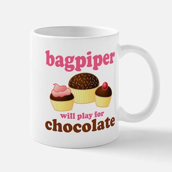 Chocolate Bagpiper Mug