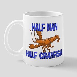 Half Man Half Crayfish Mug