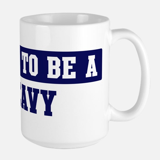 Proud to be Peavy Large Mug