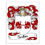 Cordier Family Crest Small Poster