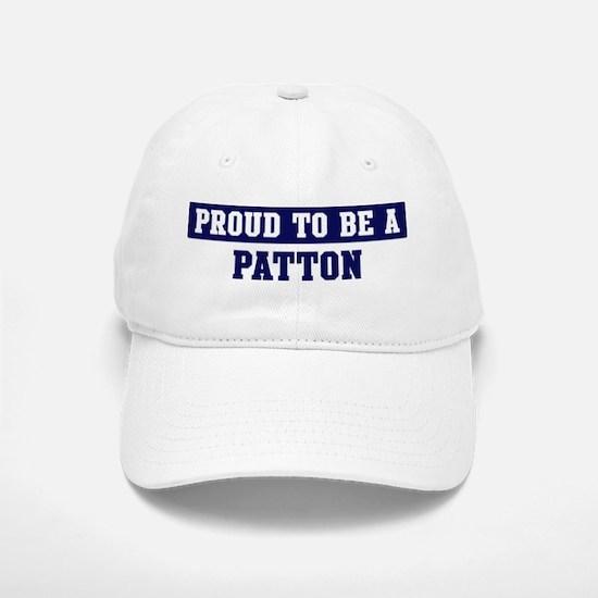 Proud to be Patton Baseball Baseball Cap