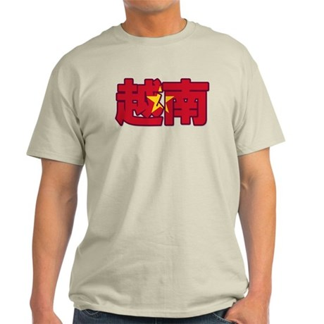 Vietnam in Chinese Light T-Shirt