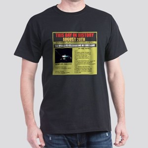 august 20th -birthday Dark T-Shirt
