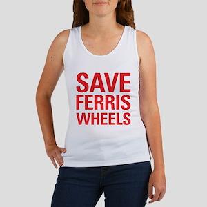 Save Ferris Wheels Women's Tank Top