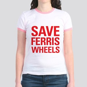 Save Ferris Wheels Jr. Ringer T-Shirt