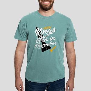 November Birthday Gift for Men Kings are T-Shirt