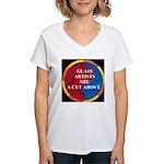 A Cut Above Women's V-Neck T-Shirt