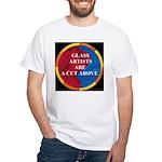 A Cut Above White T-Shirt