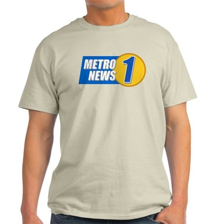 Metro News 1 Light T-Shirt