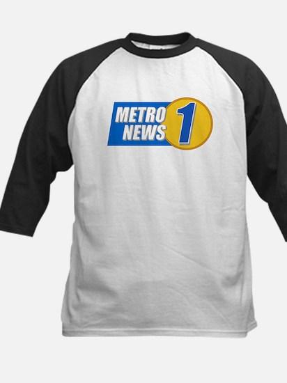 Metro News 1 Kids Baseball Jersey