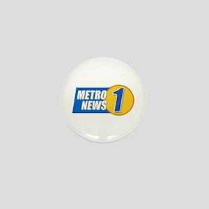 Metro News 1 Mini Button