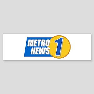 Metro News 1 Bumper Sticker