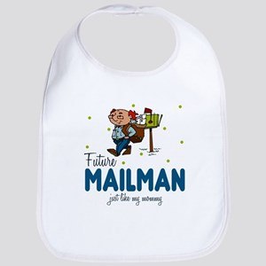 Future Mailman like Mommy Baby Infant Toddler Bib
