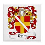 Daniel Family Crest Tile Coaster