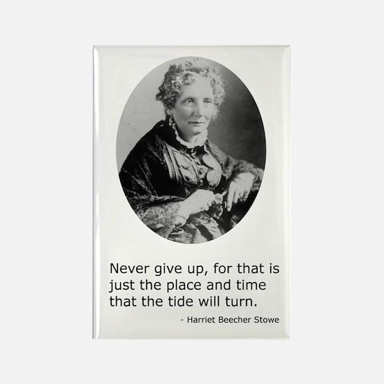 Harriet Beecher Stowe Rectangle Magnet