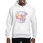 Changting China Map Hooded Sweatshirt