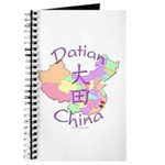 Datian China Map Journal