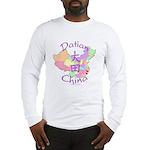 Datian China Map Long Sleeve T-Shirt