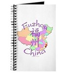 Fuzhou China Map Journal