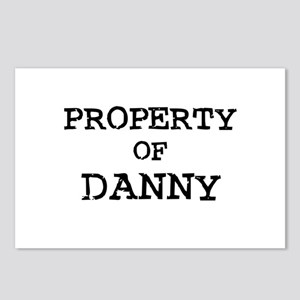 Property of Danny Postcards (Package of 8)