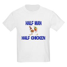 831b8cd0b87 Half Man Half Chicken s Dark T-Shirt design s on by Animals