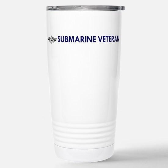 Submarine Veteran Dolphins Stainless Steel Travel