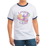 Longyan China Map Ringer T