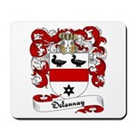 Delaunay Family Crest Mousepad