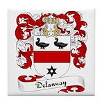 Delaunay Family Crest Tile Coaster