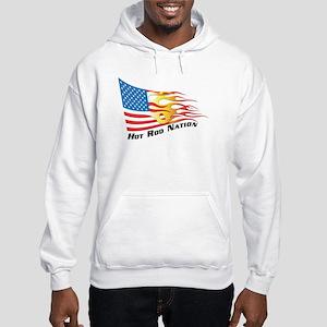 Nation Flag Hooded Sweatshirt