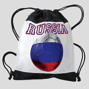Russian Football Drawstring Bag