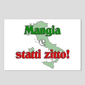 Mangia e Statti Zitto Postcards (Package of 8)