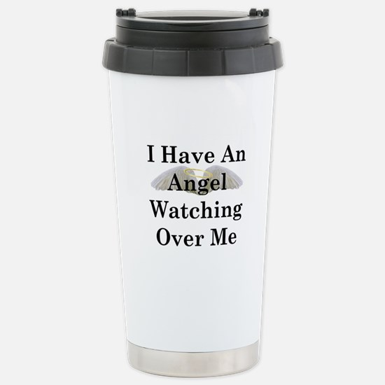 Watching Over Me Stainless Steel Travel Mug