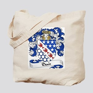 Denis Family Crest Tote Bag