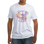Yong'an China Map Fitted T-Shirt