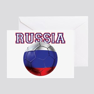 Russian Football Greeting Cards