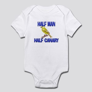 Half Man Half Canary Infant Bodysuit