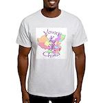 Youxi China Map Light T-Shirt