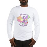Youxi China Map Long Sleeve T-Shirt