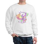 Youxi China Map Sweatshirt