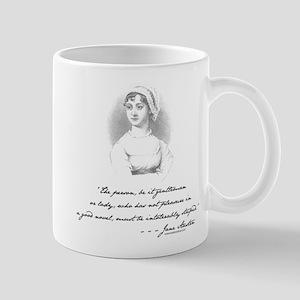 Jane Austen Attitude Mug